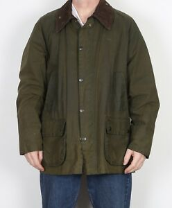 BARBOUR-Bedale-Wax-Jacket-Coat-48-034-Green-XXL-XXXL-5CP