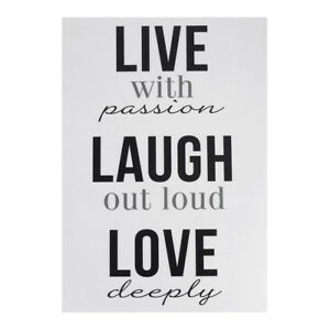 Image Is Loading 034 Live Laugh Love 034 Quotes Wall Art