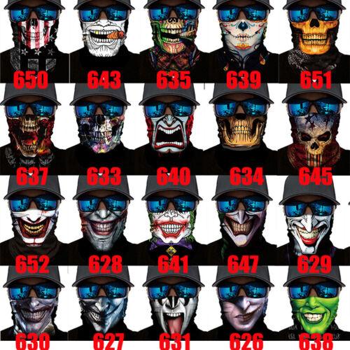 72 padrões multi-Use No Pescoço Tubo Balaclava BANDANA Máscara Cachecol Biker Máscara Facial