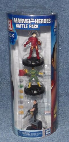 HEROCLIX CLASSICS MARVEL HEROES BATTLE PACK IRON MAN, IRON FIST & PUNISHER