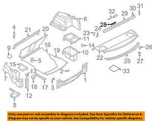 image is loading bmw-oem-01-06-325ci-interior-rear-seat-