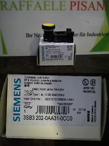 Siemens-3SB3202-0AA31-0CC0-Drucktaster