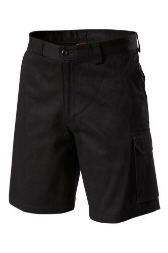 Mens Hard Yakka Generation Gen Y Cotton Cargo Drill Shorts Work Tough Y05500
