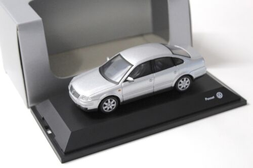 1:43 Schuco VW Passat V6 Limousine B5 silver DEALER NEW bei PREMIUM-MODELCARS