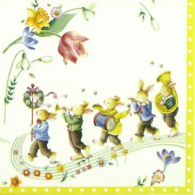 Bees joy 4x Paper Napkins for Decoupage Craft Paper Napkin