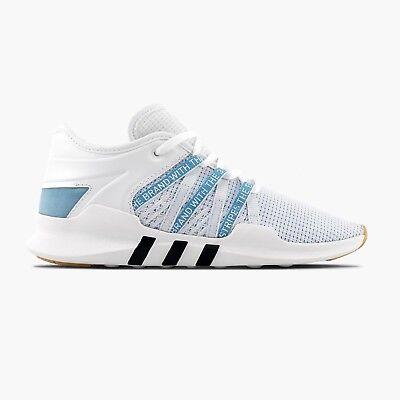 new styles b7e85 a95eb Adidas Women's EQT Racing ADV Shoes NEW AUTHENTIC White/Blue/Black CQ2155 |  eBay