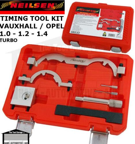 NEILSEN Tools Vauxhall Opel 1.0 1.2 1.4 Turbo Engine Timing locking Ket ct4423