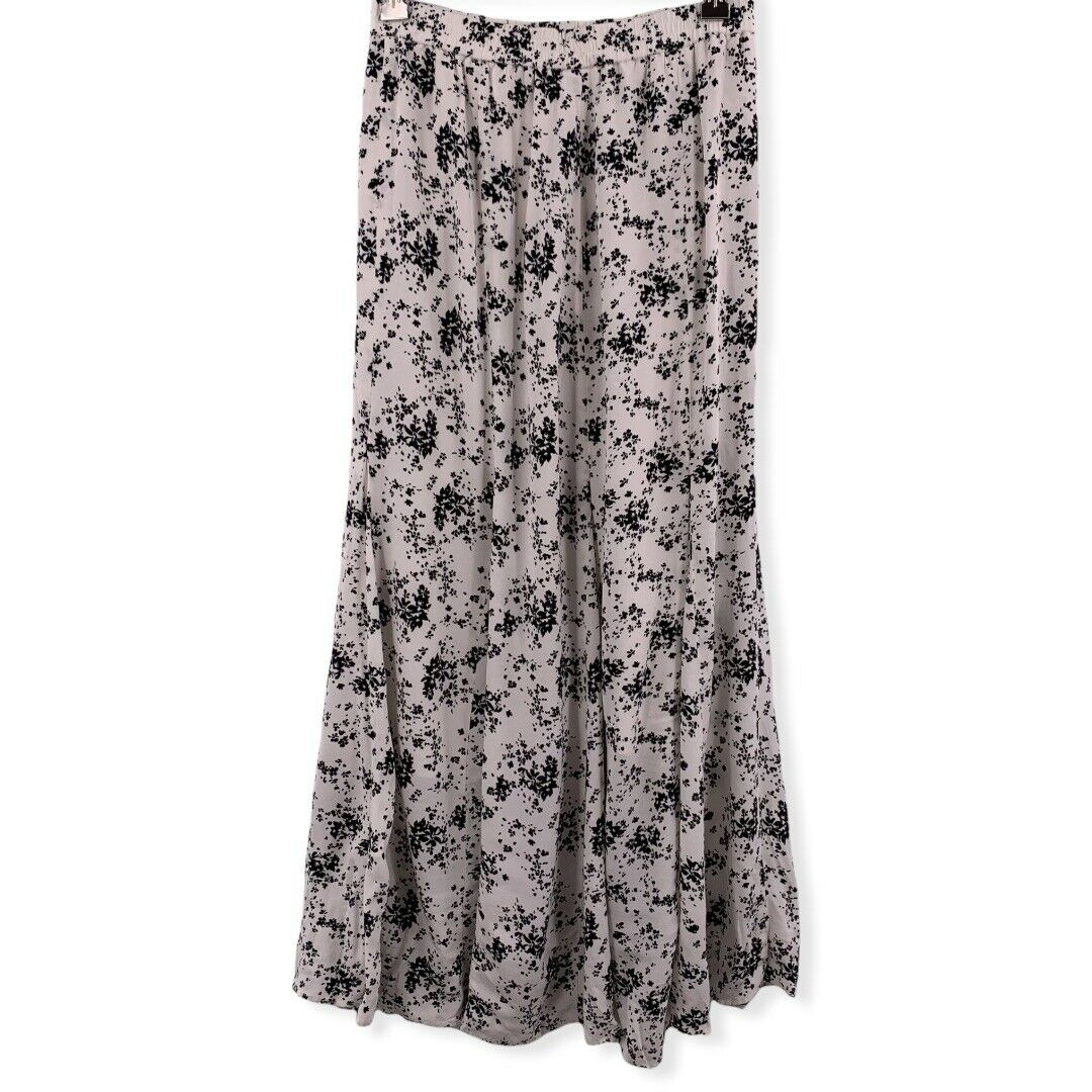 Uniqlo Floral Mermaid Long Maxi Skirt XS - image 1