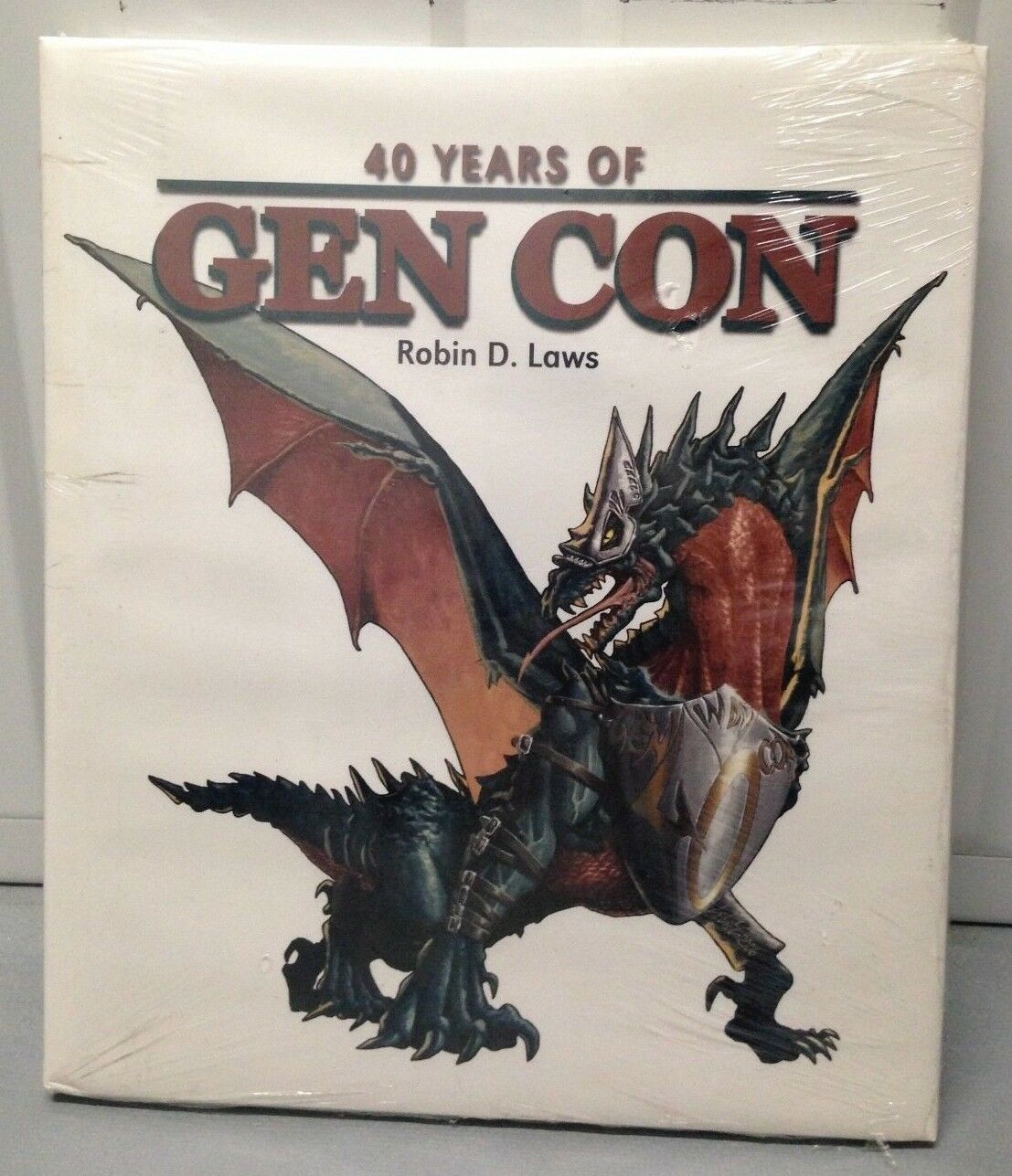40 Years of Gen Con by Robin D Laws - Sealed