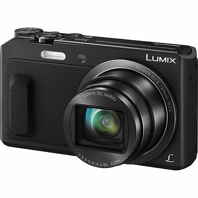 Panasonic Lumix DMC-ZS45 Digital Camera - (Black) NEW!