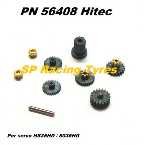 for HS-35HD Ingranaggi Serocomando Hitec Heavy Gear Set HS-5035HD PN56408