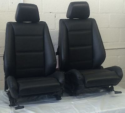 BMW e30 325i 318i Convertible Front Seat Pair 1987-92 in Black or Tan $875.00
