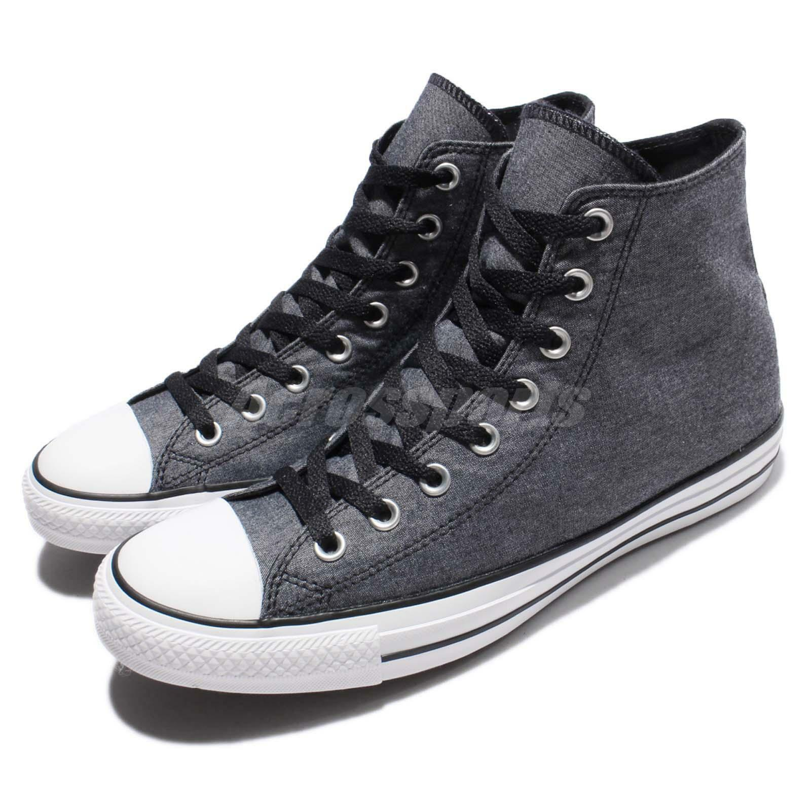 Converse Chuck Taylor All Star Grey White Men Casual Shoes Sneakers 155386C
