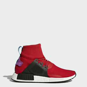 dd5198b16583f Adidas NMD XR1 Winter Scarlet Red BZ0632 Core Black Originals Mens ...