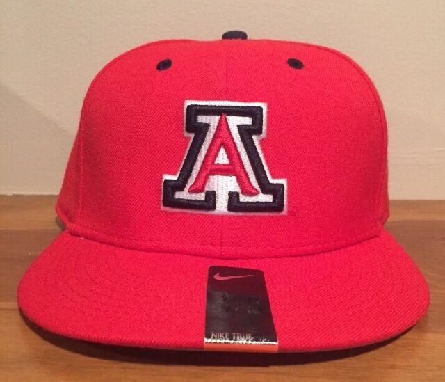 Nike True Dri Fit University of Arizona Wildcats Fitted Hat Cap Size 7 1 8 cd983d97b