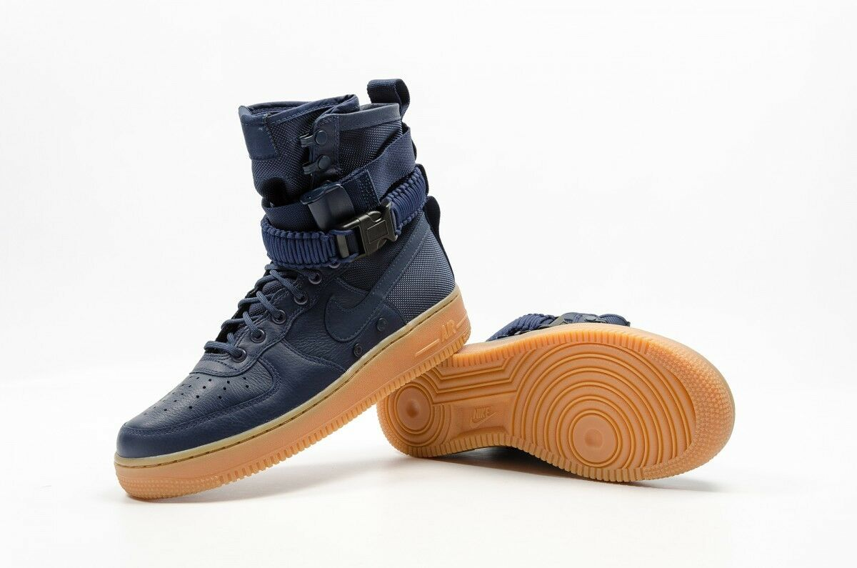 Nike SF AF1 MENS Sneakers Midnight Navy [864024-400] Size 10.5