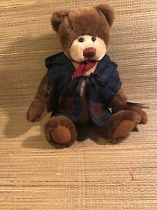 Pudding Collectible Brown Plush Bear Ganz Cottage Collectibles Ebay