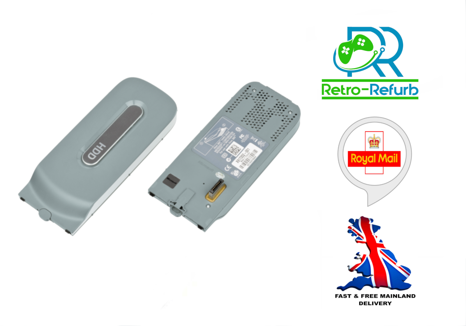 Official Xbox 360 Hard Drive HDD 20GB - 60GB - 120GB - Fast Free Post