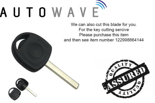 NEW Vauxhall Opel Adam 2013-2016 Manual Key Transponder Case With HU100 Blade