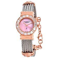 Charriol 028PCD1.540.455 Women's St. Tropez Pink Mother of Pearl  Quartz Watch