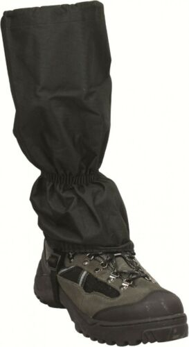 Highlander Outdoor Classic Gaiters Black Country Hunting Shooting