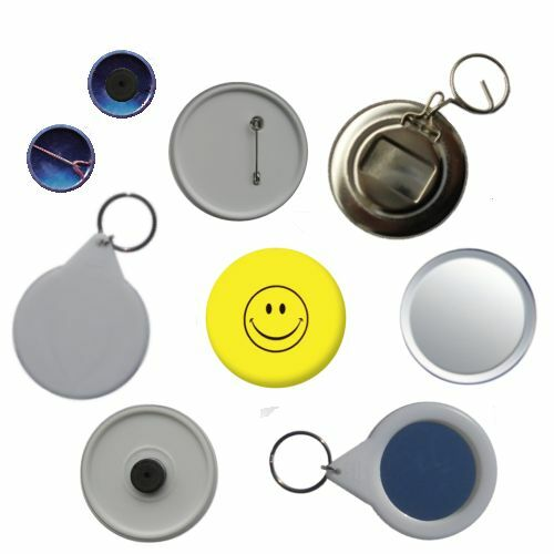 Smiley Face Pin Button Badge Magnet Keyring Bottle Opener Mirror
