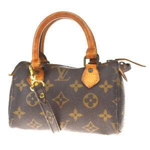 Auth-LOUIS-VUITTON-Mini-Speedy-2Way-Hand-Bag-Monogram-Leather-M41534-74MF177