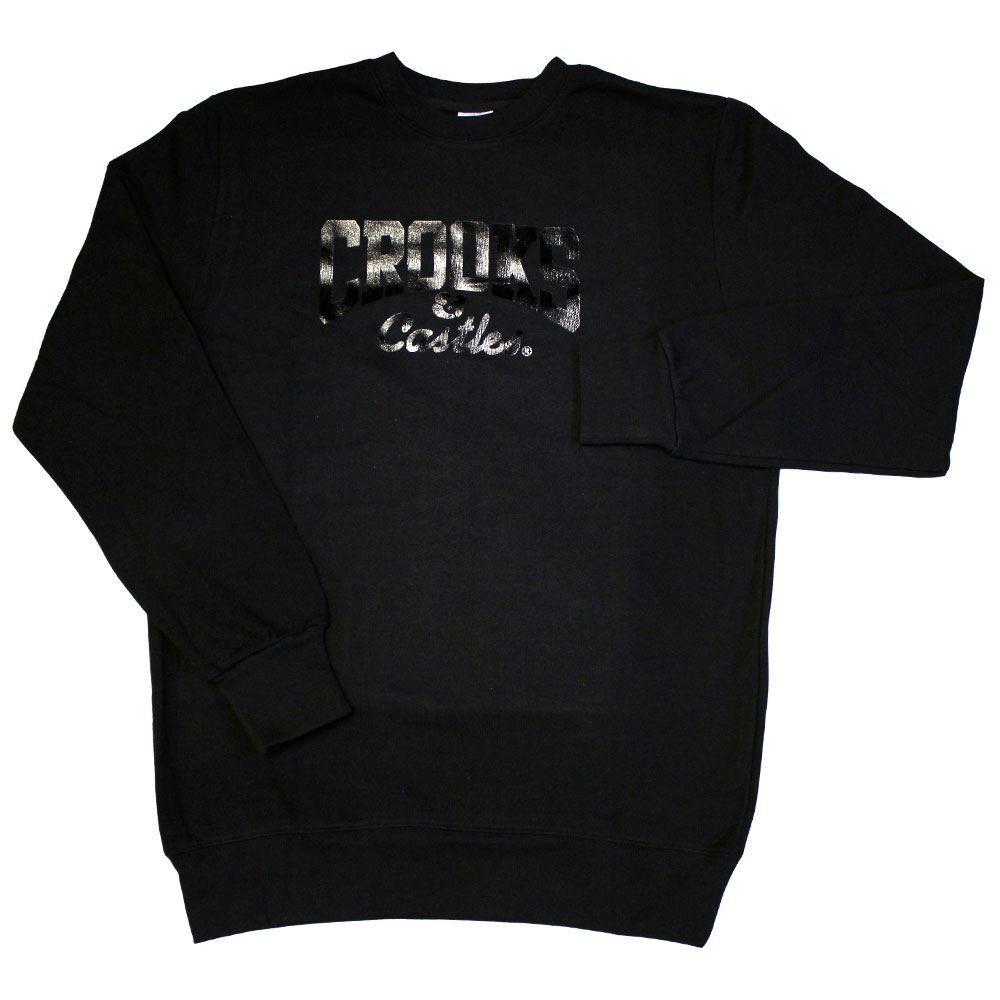 Crooks & Castles Core Logo Sweatshirt Schwarz