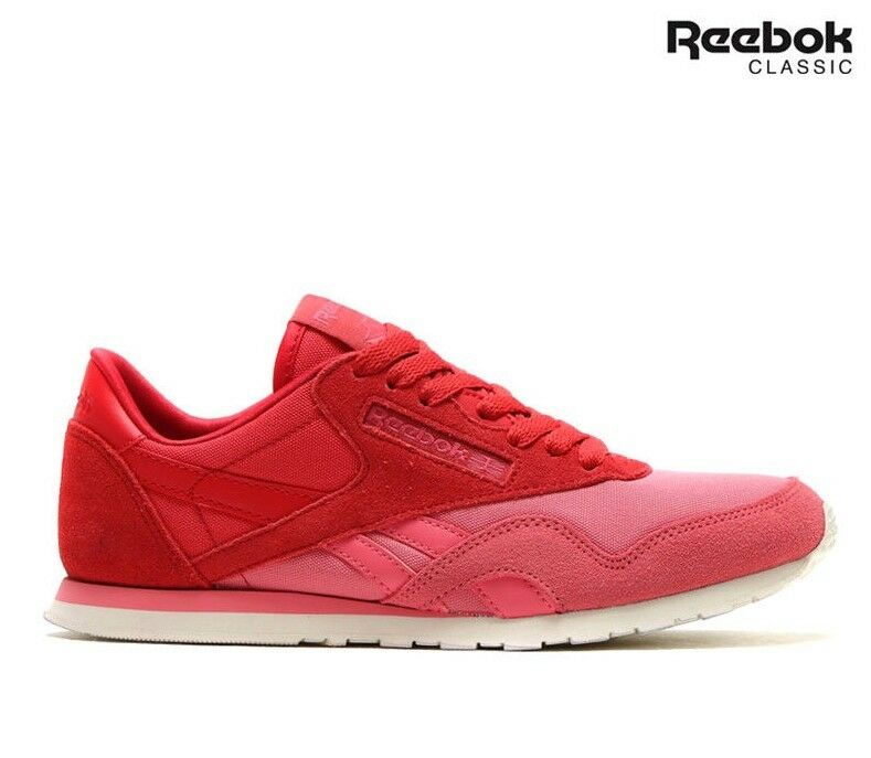Reebok Classic Trainers Nylon Slim Candy Girl Trainers Classic Schuhes a06791