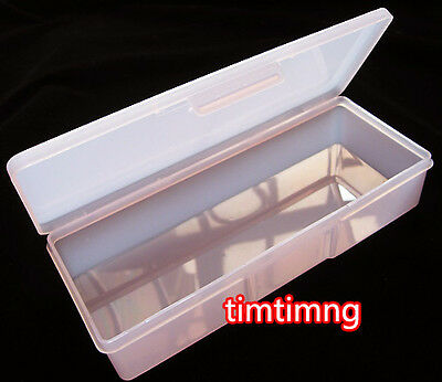 Nail Art Containers Holder Case Box Rhinestones Nail Art Brushes Storage Boxes