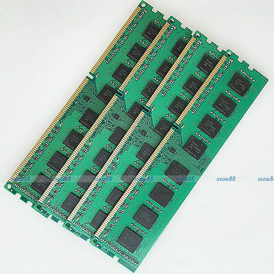 32GB 4x8GB PC3-12800 DDR3 1600 Mhz 240Pin 32g Ram For AMD Desktop DIMM Memory