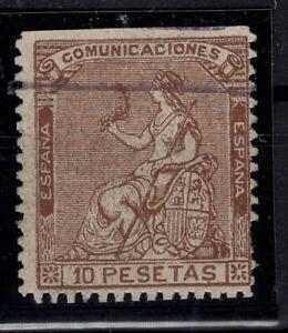 P133263-SPAIN-ALLEGORY-EDIFIL-140-USED-CERTIFICATE-CV-3500