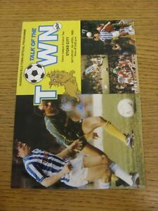 05-04-1986-Huddersfield-Town-v-Stoke-City-Newspaper-Clippings-Inside