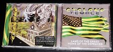Cyclone Temple: I Hate Therefore I Am + Land Of The Greed 2 CD Set 2017 USA NEW