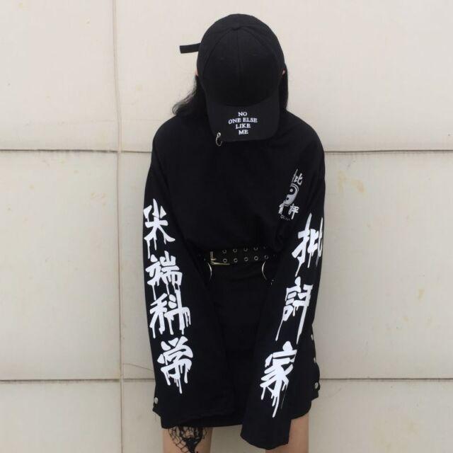 Gothic Harajuku Long Sleeve T-shirt Mori Girl Sweet BF Style Sweatshirt Tops#126