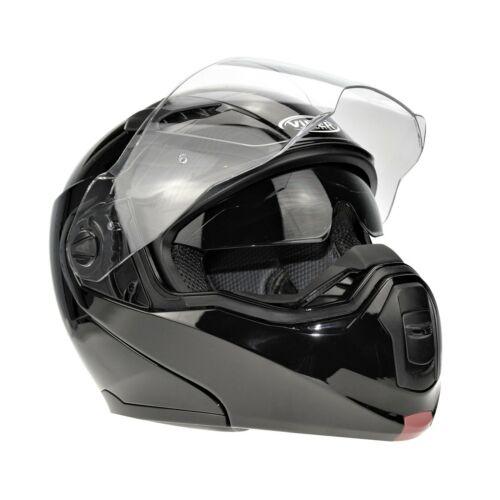 Viper RSV-555 Black DVS Modular Flip Up Front Motorbike Helmet Motorcycle Crash