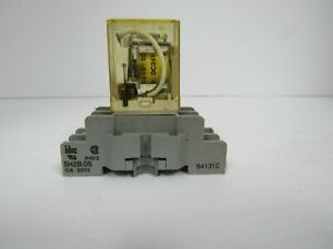 IDEC Rh2b-u Dc24v Relay With Sh2b-05 94x01 Socket on idec relay rh1b ul, idec rh1b-u, idec control relay, idec relay base,