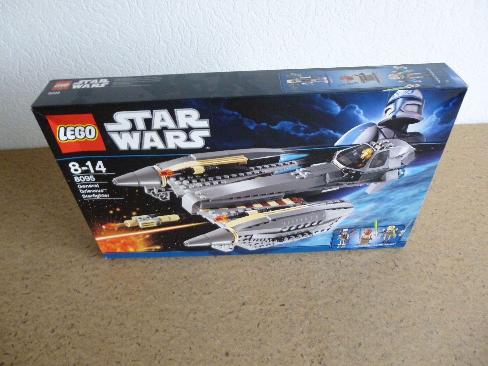 LEGO StarWars General Grievous' Starfighter (8095) OVP