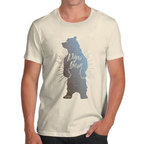 Twisted Envy Men/'s Papa Bear T-Shirt