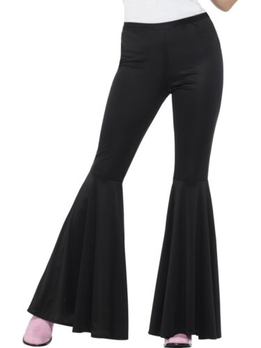 Ladies 60s 60/'s Flares Flared Trousers Fancy Dress Hippie 70s 70/'s by Smiffys