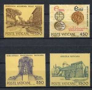 s25514) DEALER STOCK VATICANO 1984 Science & culture 4v (X10 SETS)
