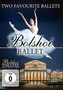 DVD-Bolshoi-Ballet-Two-Favorites-2DVDs-incluse-Giselle-amp-Boris-Godnunov