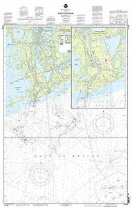 NOAA Chart Port Fourchon and Approaches 4th Edition 11346