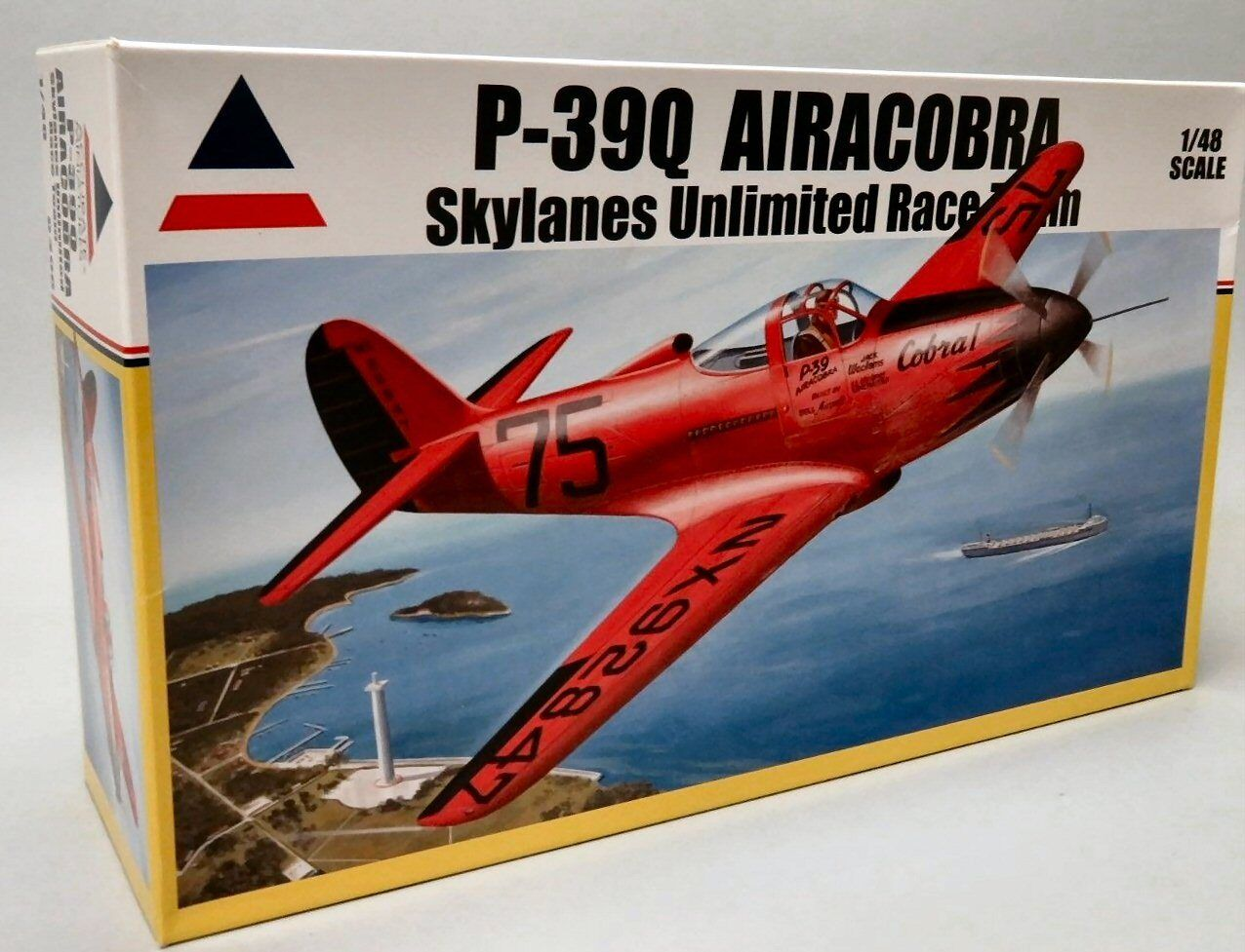 Accurate Miniatures 0408 Bell P-39Q Airacobra Skylanes Unlimited Race Team 1 48