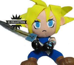 Final Fantasy Vii Cloud Peluche 30 Cm Figurine En Peluche Remake Remake Ps1