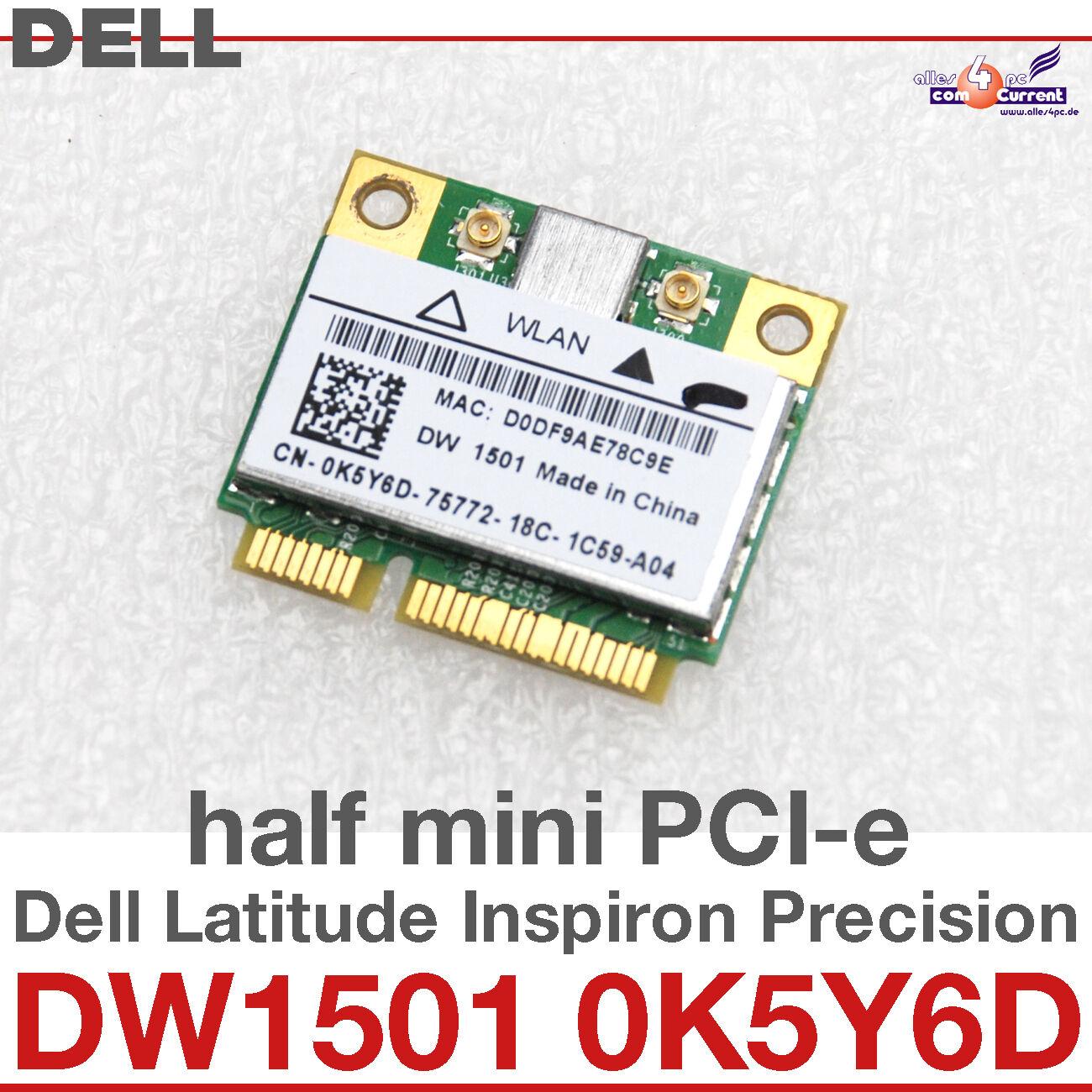 wi-Fi WLAN Wireless Card Network Card For Dell Mini Pci-E DW1501 0K5Y6D #D19