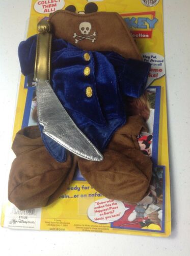 Disney Pal Mickey Interactive Costume ~Very Rare~ Pirate Capt/'n Captain NIB