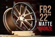 "Ferrada FR2 Alloy Wheels 11J x 22"" Suitable For Most 4x4 Vehicles"