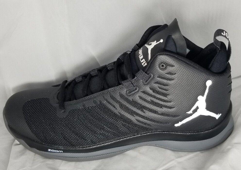 NIKE Air Jordan Super Fly Zoom Mens Sz 11 Basketball shoes Black 844677 005