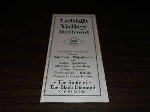 OCTOBER-1958-LEHIGH-VALLEY-RAILROAD-SYSTEM-PUBLIC-TIMETABLE